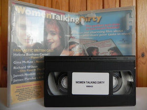 Women Talking Dirty: Poster included - Large Box - Comedy - Sample - Pal VHS