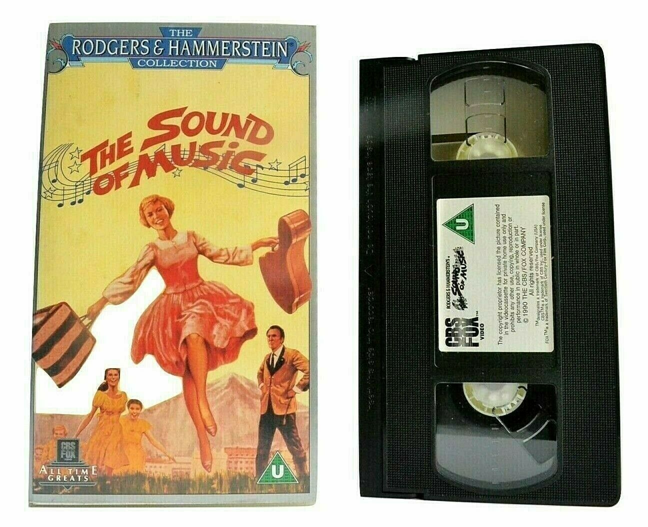 The Sound Of Music (1965) - { Musical } - < Julie Andrews > - Children's - VHS