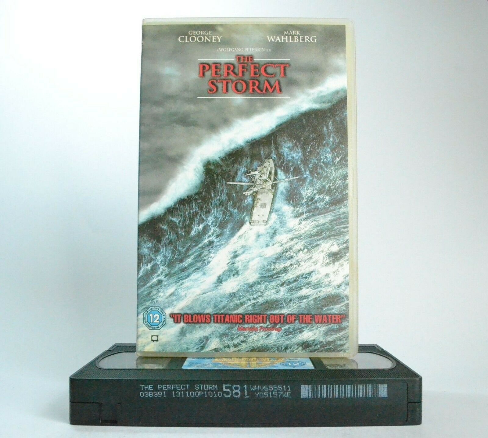 The Perfect Storm: Based On True Story - Disaster Drama (2000)- G.Clooney - VHS