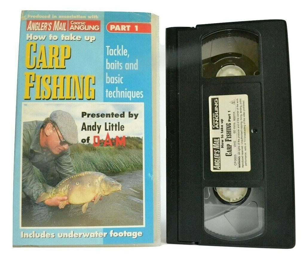 How To Take Up Carp Fishing (Part 1): Old Bury Hill Lake [Angler's Mail] - VHS