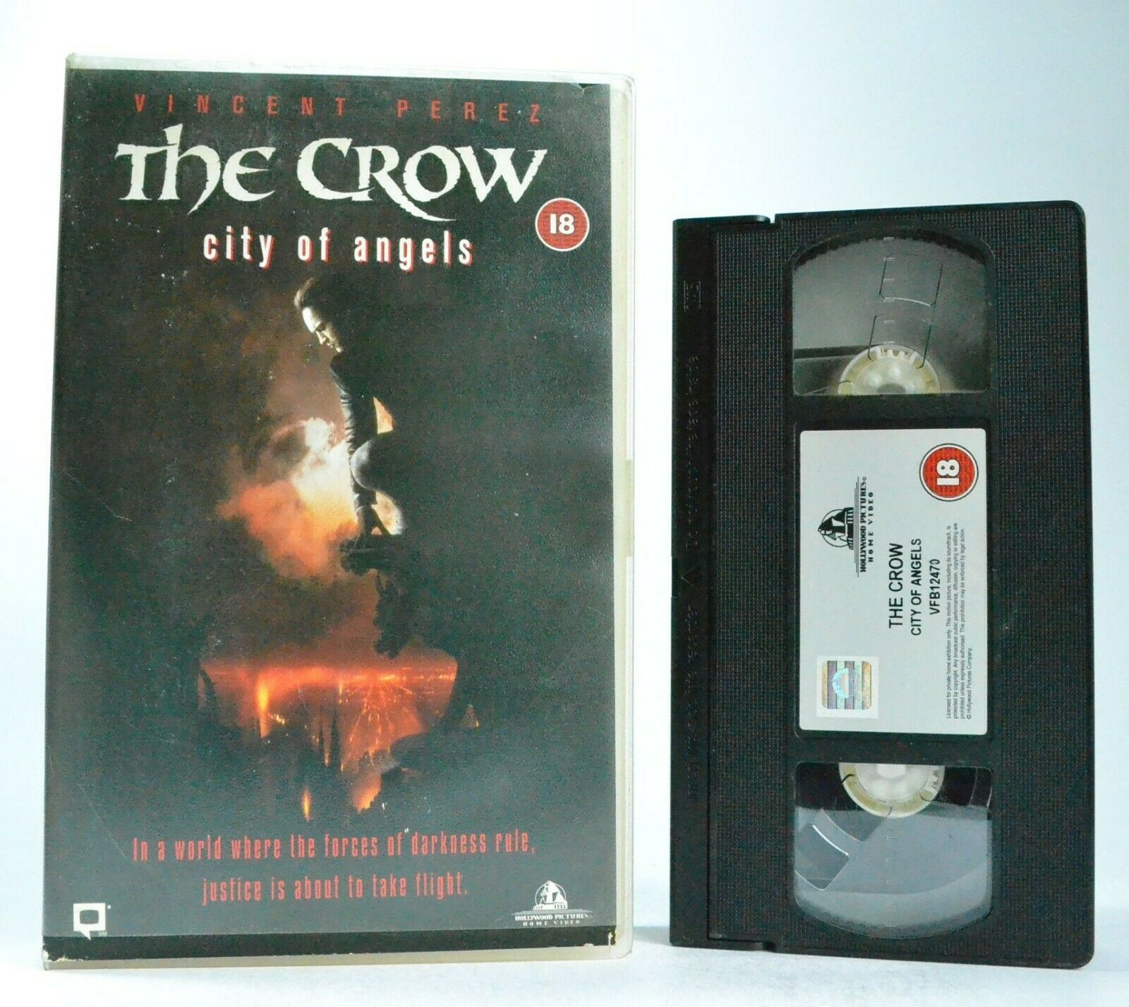 The Crow: City Of Angels - Based On J.O'Barr Comic Book - Sci-Fi/Fantasy - VHS