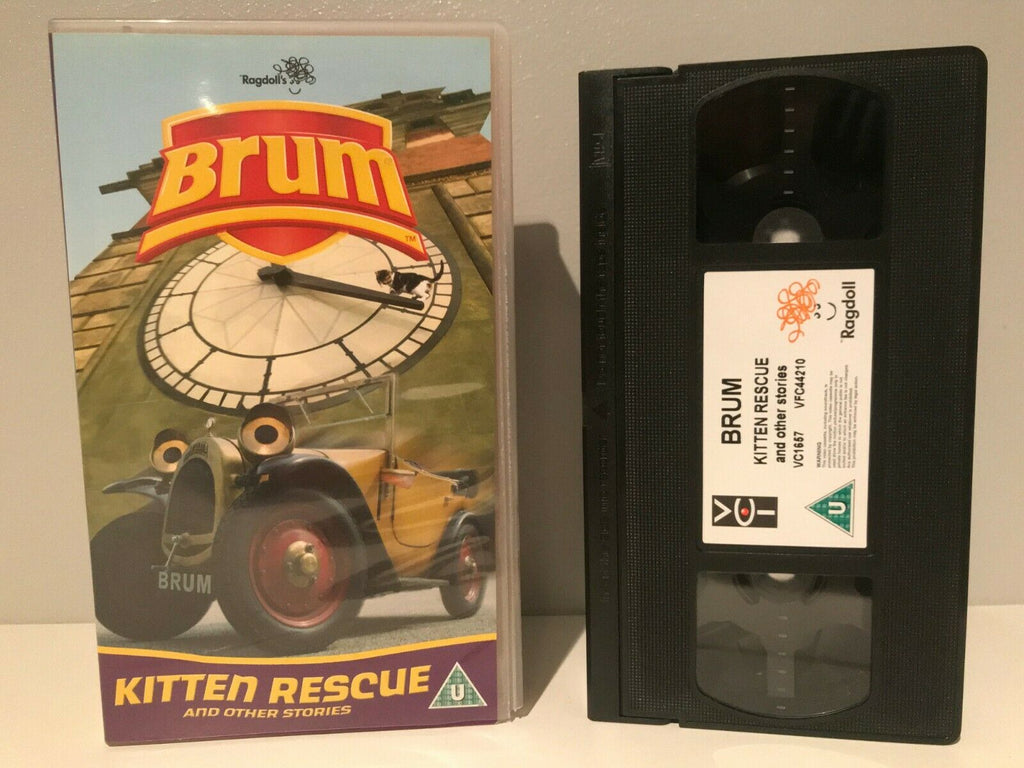 Brum: Kitten Rescue [Ragdoll Production] Animated Adventures - Children's - VHS