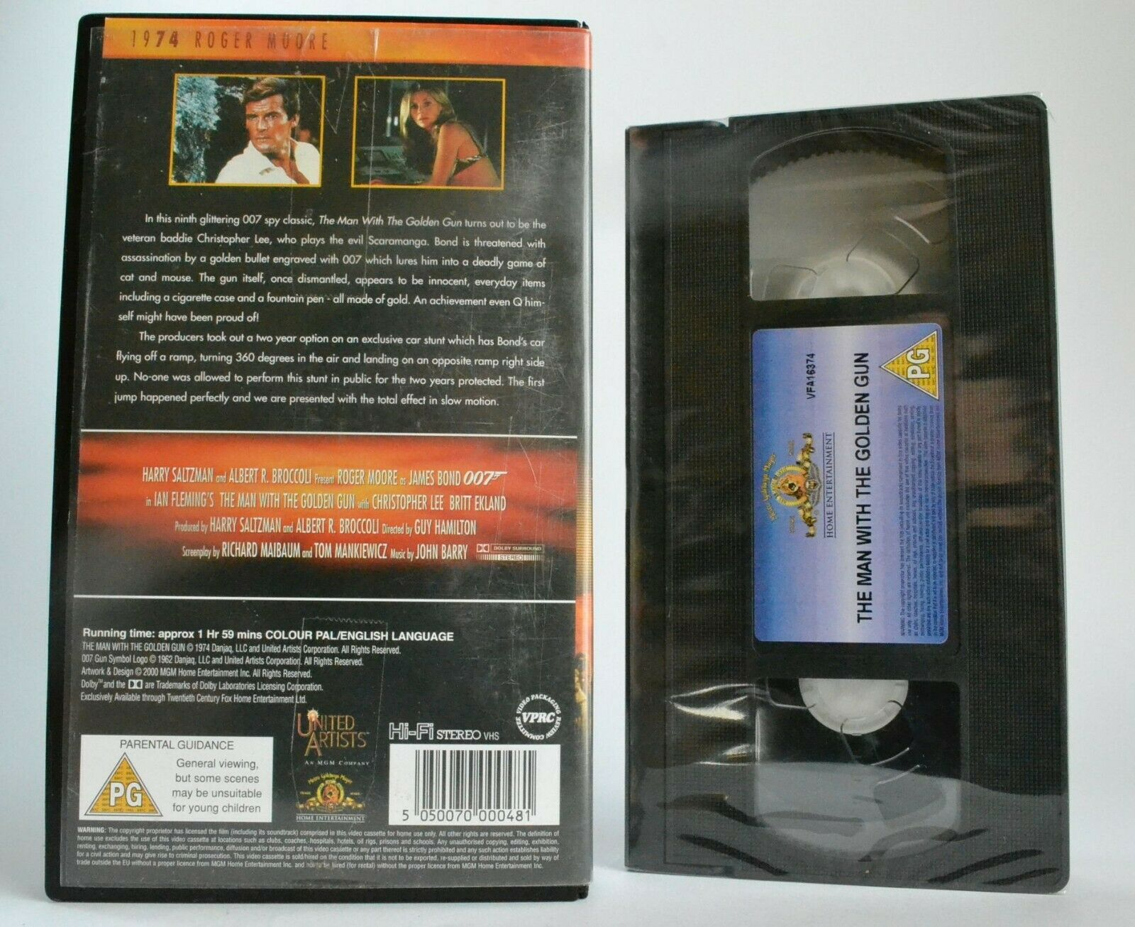 The Man With The Golden Gun: James Bond Collection - Brand New Sealed - Pal VHS