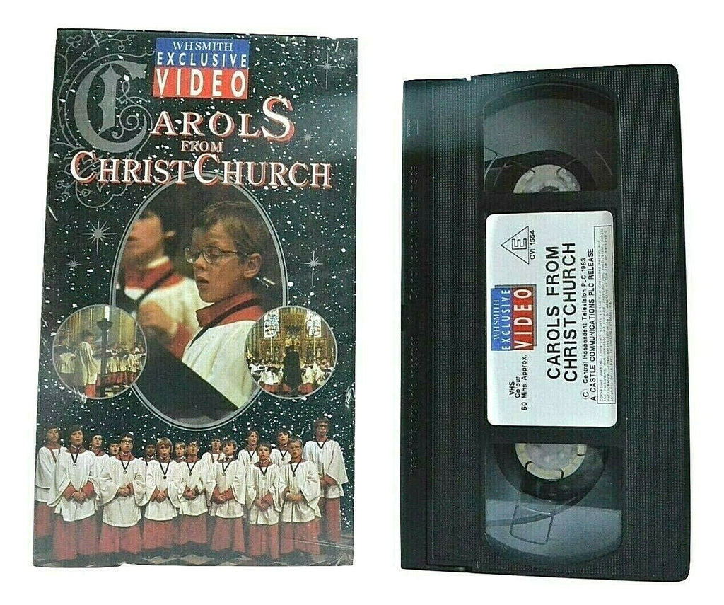 Carols From Christ Church [WH Smith Exclusive Video] - 'Silent Night' - Pal VHS