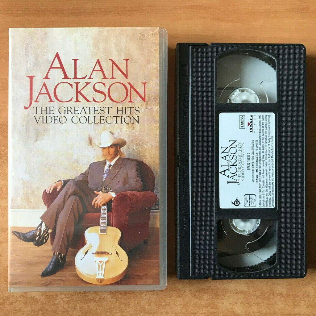 "Alan Jackson: The Greatest Hits (Video Collection): ""Wanted"" - Music - Pal VHS"