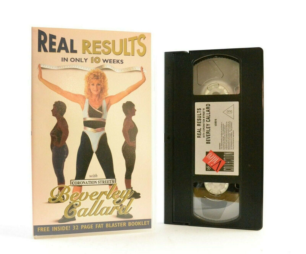 Real Results: By Beverley Callard - Fitness - Beauty - Body Workout - Pal VHS