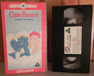 "Care Bears (1986)  [Starvision]: ""Caring For Spring"" - Animated - Children's - Pal VHS"