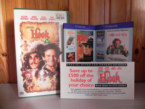 1990, Adventure, By, Children's & Family, Fantasy, Film, Garfield and Friends, Hook, Pal, Spielberg, Steven, U, United Kingdom, VHS