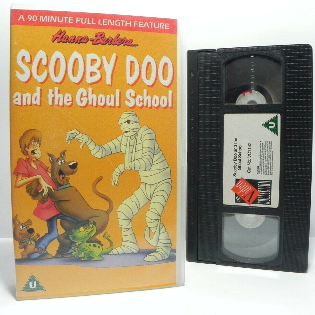 Scooby Doo And The Ghoul School - Animated - Classic - Adventures - Kids - VHS