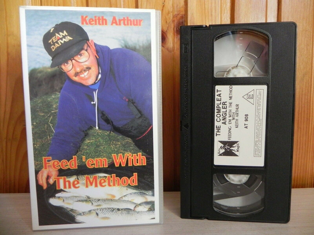 Feed 'em With The Method – Fishing – Keith Arthur – Pal VHS