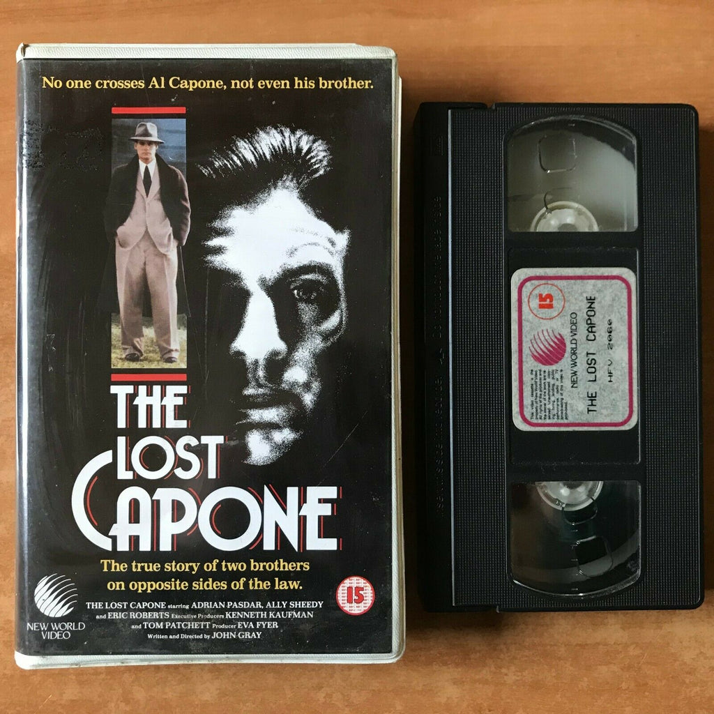 The Lost Capone: (1990) Made For TV - Crime Drama [Soft] Large Box - Pal VHS