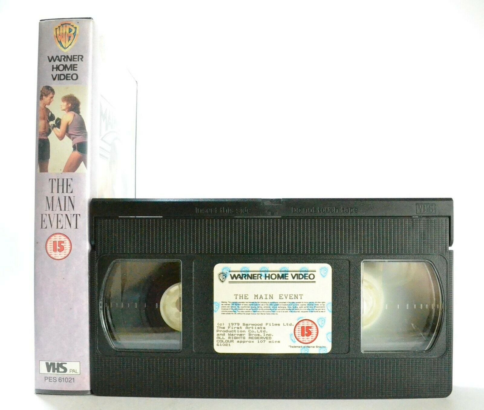 The Main Event: A Glove Story - Romantic Comedy (1979) - B.Streisand - Pal VHS