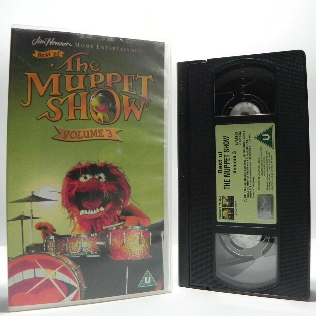 Muppet Show - Vol.3 - Best Of - Comedy Stars - John Cleese - Bob Hope - Pal VHS