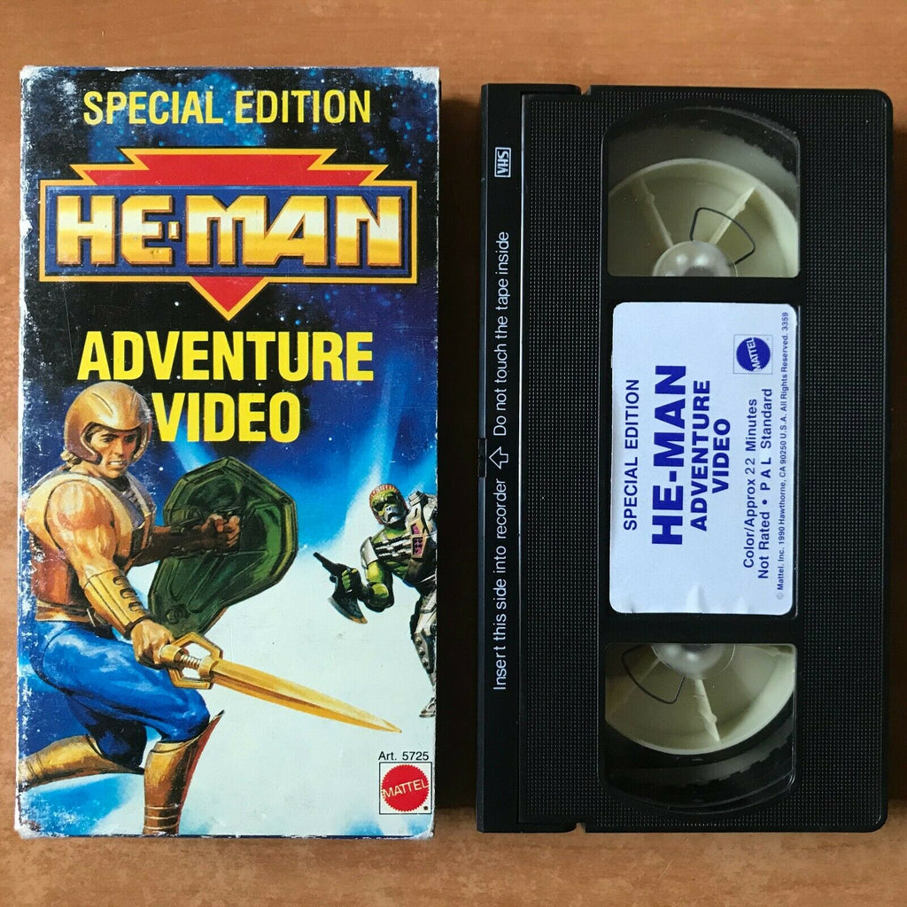 He-Man: Adventure Video;[Special Edition] Carton Box - Animated - Kids - Pal VHS
