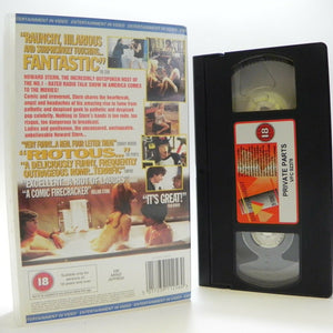 Private Parts: (1997) Biography - Howard Stern Story - Comedy/Drama - Pal VHS