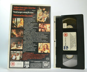 The War Of The Roses: Disaster Couple - Large Box - Michael Douglas - Pal VHS