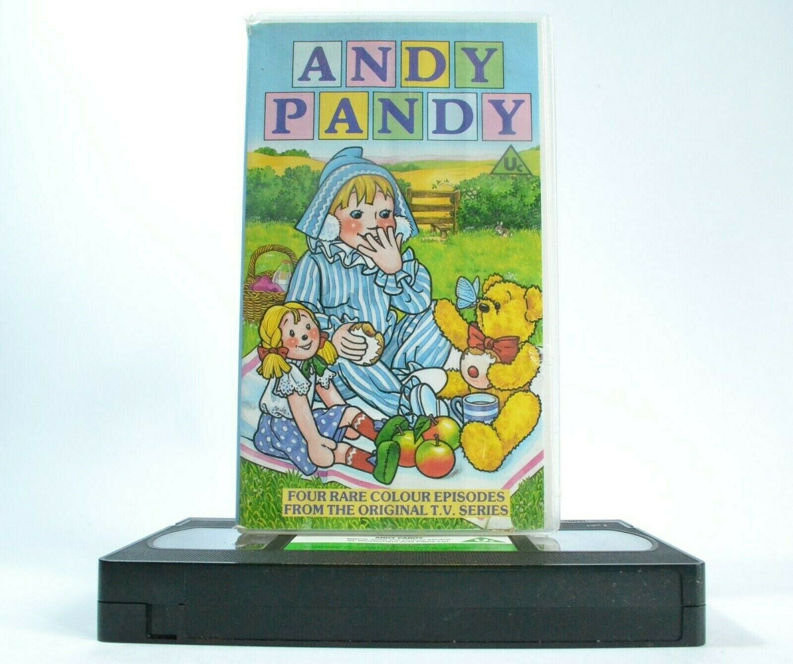 Andy Pandy (BBC) - Pre-School - Educational -<Vera McKechnie>- Children's - VHS