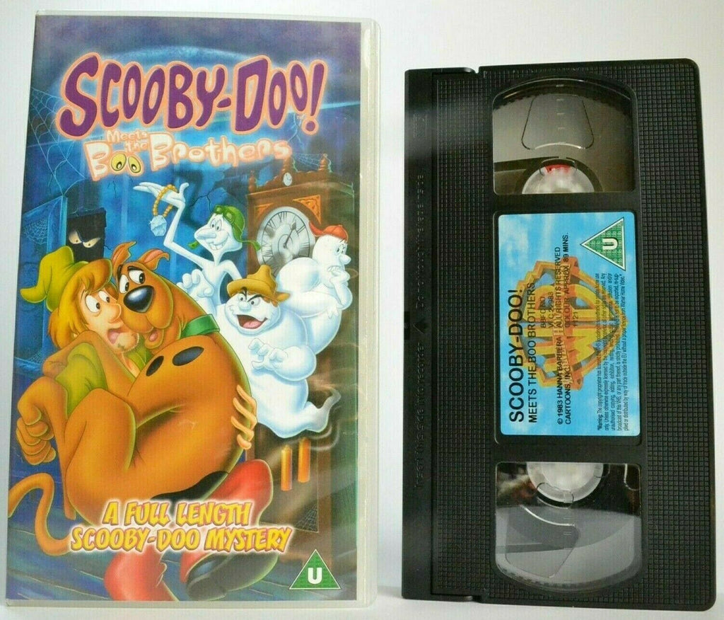 Scooby-Doo Meets The Boo Brothers - Animated - Mystery Adventures - Kids - VHS