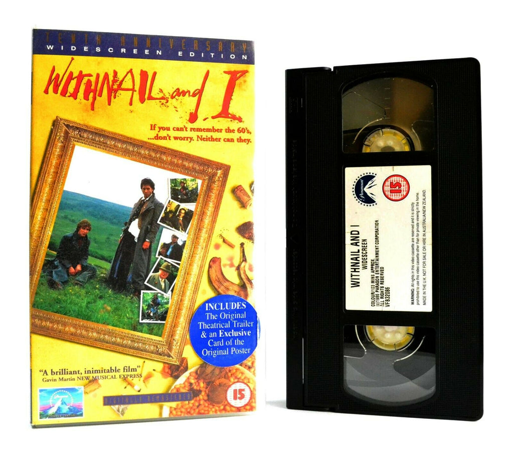Withnail And I: British Black Comedy (1987) - Widescreen - Richard E.Grant - VHS