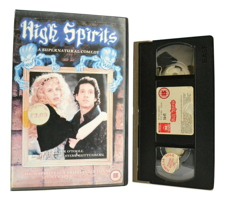 High Spirits: A Supernatural Comedy - Large Box - D.Hannah/S.Guttenberg - VHS