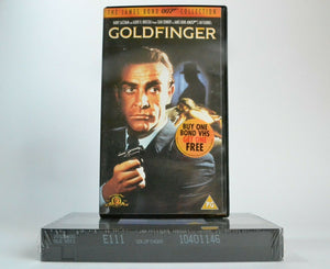 1964, Action, Bond, Goldfinger, PAL, Sean Connery, VHS
