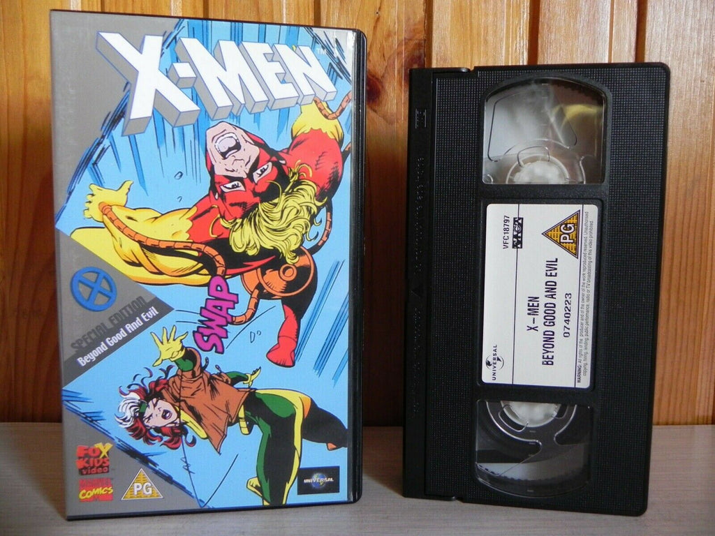 X-Men - Special Edition - Beyond Good And Evil - Marvel Comics - Cartoon - VHS