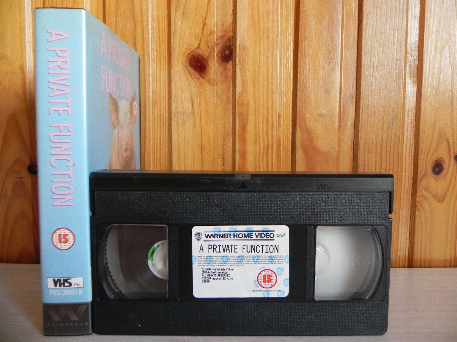 A Private Function - 1988 Warner Home - Droll Comedy Of Manners - Pal VHS