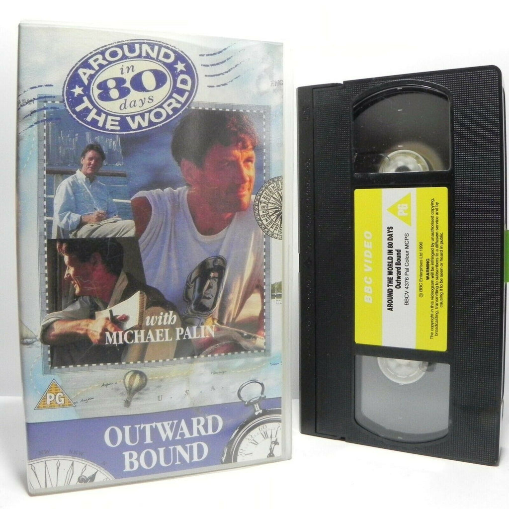 Around The World In 80 Days: By Michael Palin - Outward Bound - TV Series - VHS
