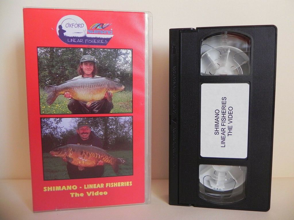 Shimano - Linear Fisheries - Fishing - Chris Ball - Witney Oxford - Pal VHS