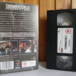 Terminator 2: Judgment Day - Universal - Sci-Fi - Plus The Making Of T2 - VHS