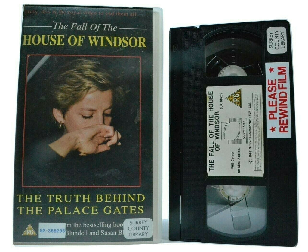 The Fall Of The House Of Windsor [Documentary] Royal Dynasty - Pal VHS