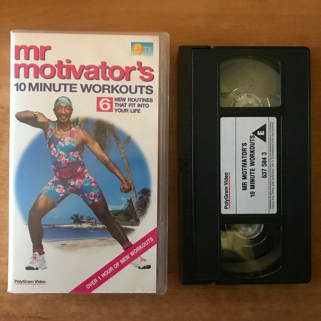 10 Minute Workouts; [Mr. Motivator]: 6 New Routines - Exercises - Fitness - VHS