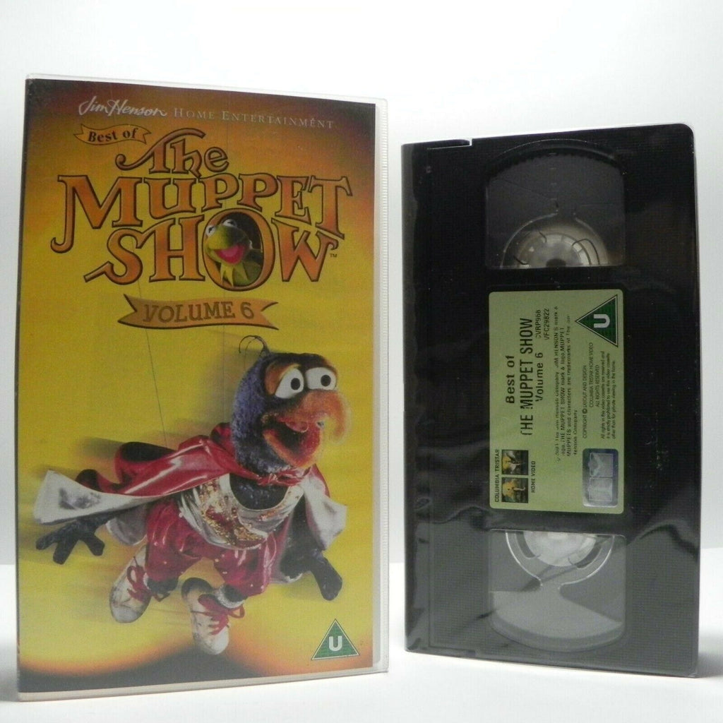 Muppet Show - Vol.6 - Best Of - Ladies - Liza Minelli - Julie Andrews - Pal VHS