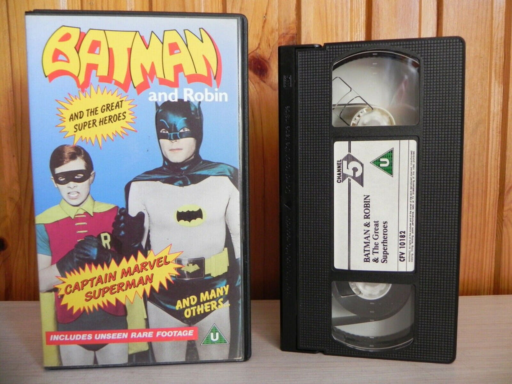 Batman & Robin - Unseen Rare Footage - Captain Marvel - Superman - 1990 - VHS