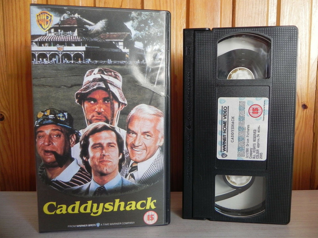 Caddyshack - Comedy - Warner Release - Comedy Gold - 1980 Chevy Chase - Pal VHS