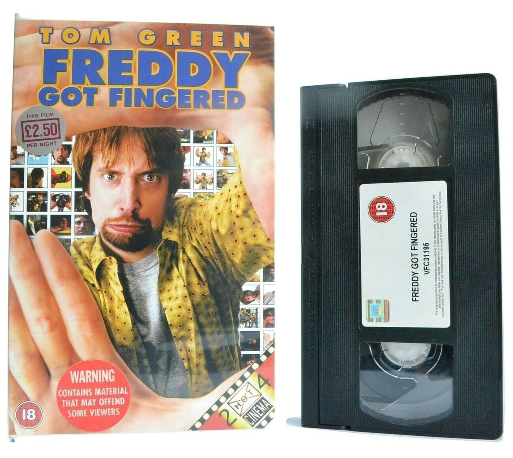 Freddy Got Fingered (2001): Surrealist Comedy - Large Box - Tom Green - Pal VHS