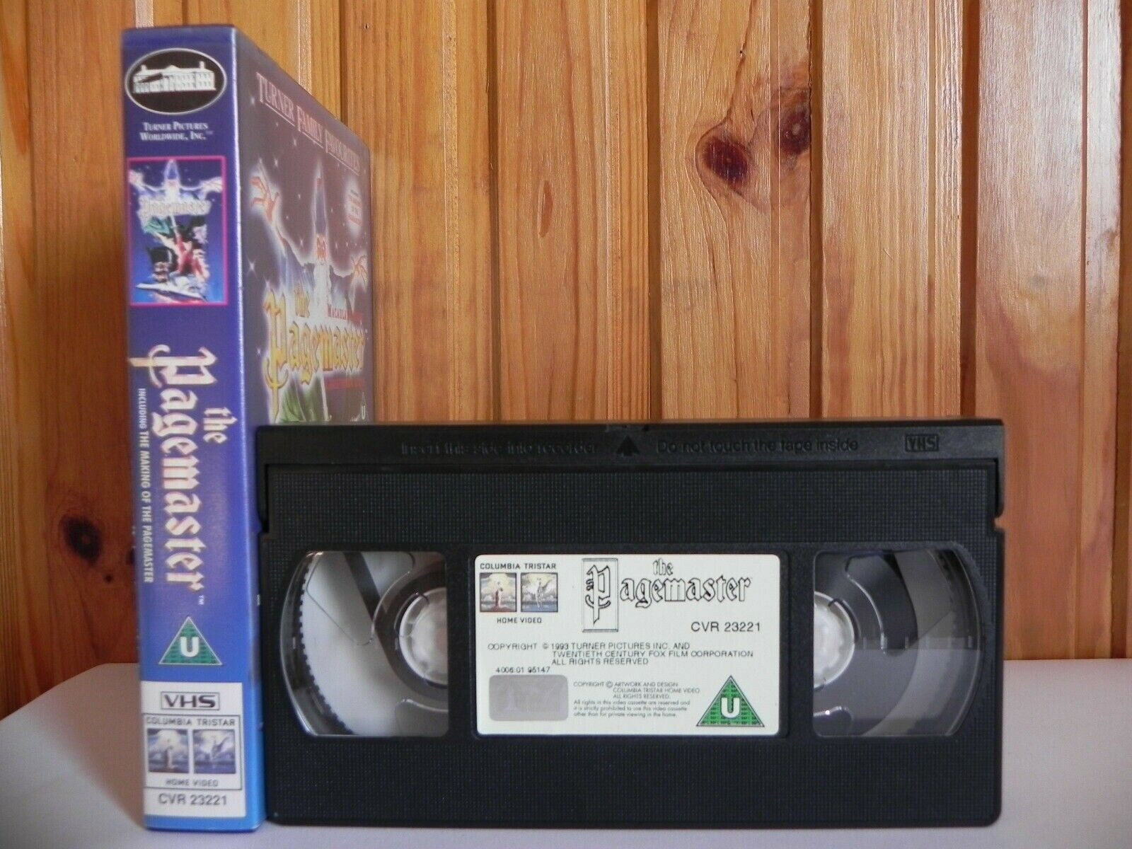 The Pagemaster - Turner Pictures - Family - Maculay Culkin - Children's - VHS