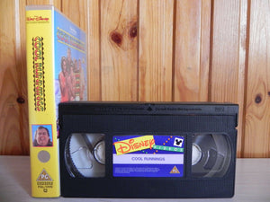 Cool Runnings (1993); [Free Postcard] Walt Disney - Family Adventure - Pal VHS