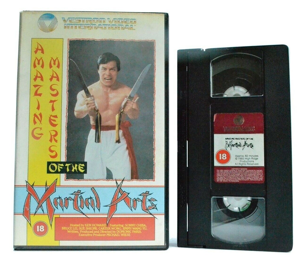 Amazing Masters Of The Martial Arts (1985) - Sonny Chiba - Bruce Lei - Pal VHS