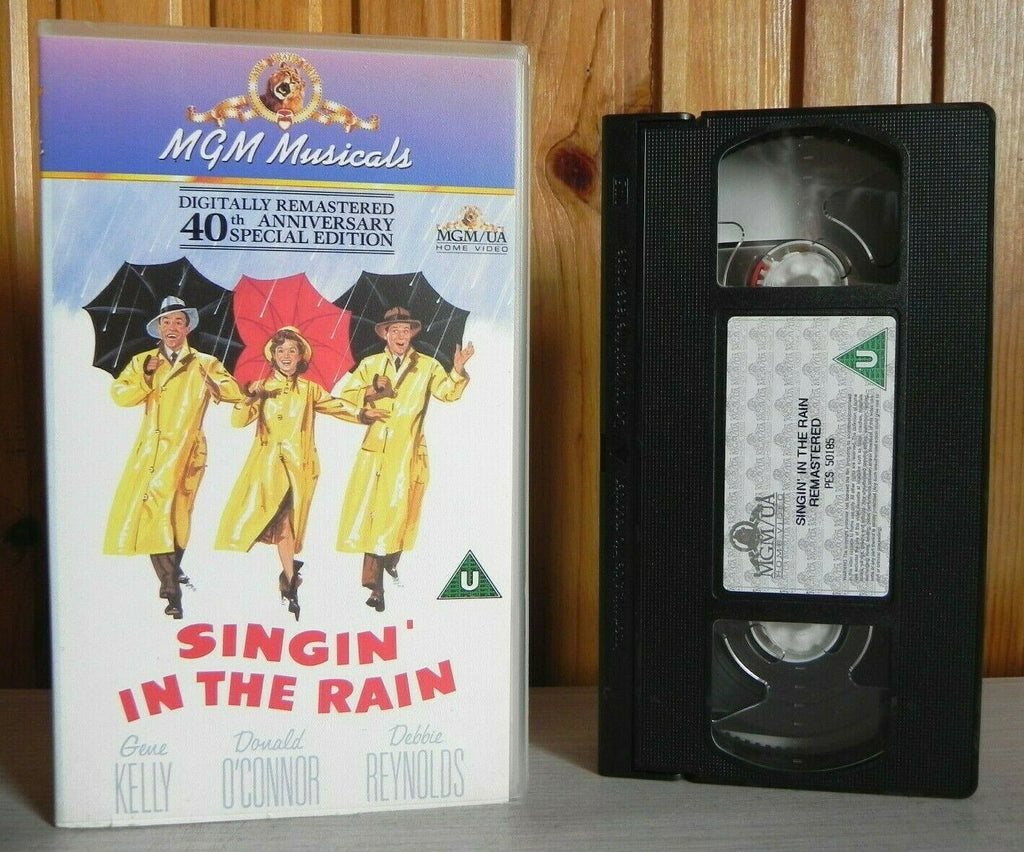 Singin' In The Rain: 40th Anniversary Edition - Musical - THX Remastered - Pal VHS