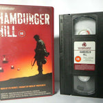 Drama, Film, Hamburger, Hamburger Hill, PAL, Realistic, VHS, Vietnam, War