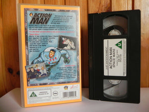 Action Man: Space Wars - Animated - Adventure - Action - Children's - Pal VHS