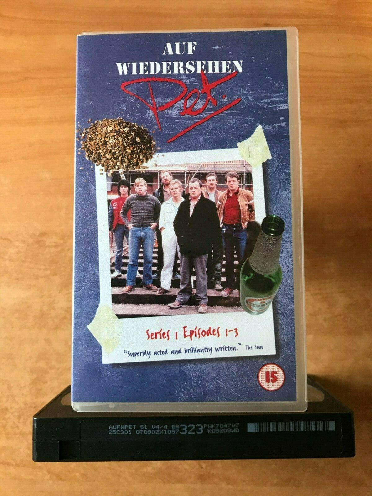 Auf Wiedershen Pet (Series 1, Ep. 1-3): If I Were A Carpenter - TV Series - VHS