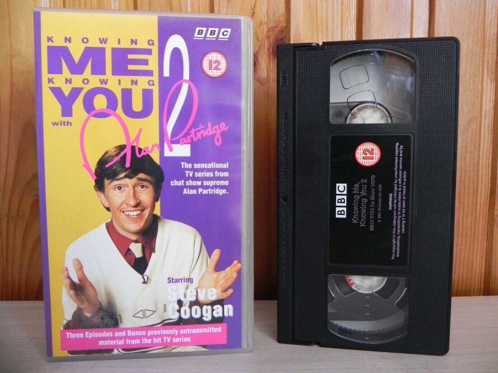 Alan Partridge - Knowing Me Knowing You 2 - Steve Coogan - TV Series - Pal VHS