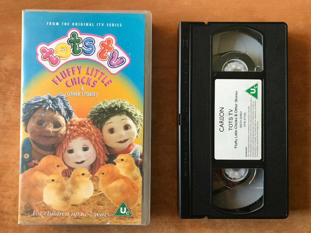 Tots TV: Fluffy Little Chicks - Ragdolls - Pre-school - Educational - Kids - VHS