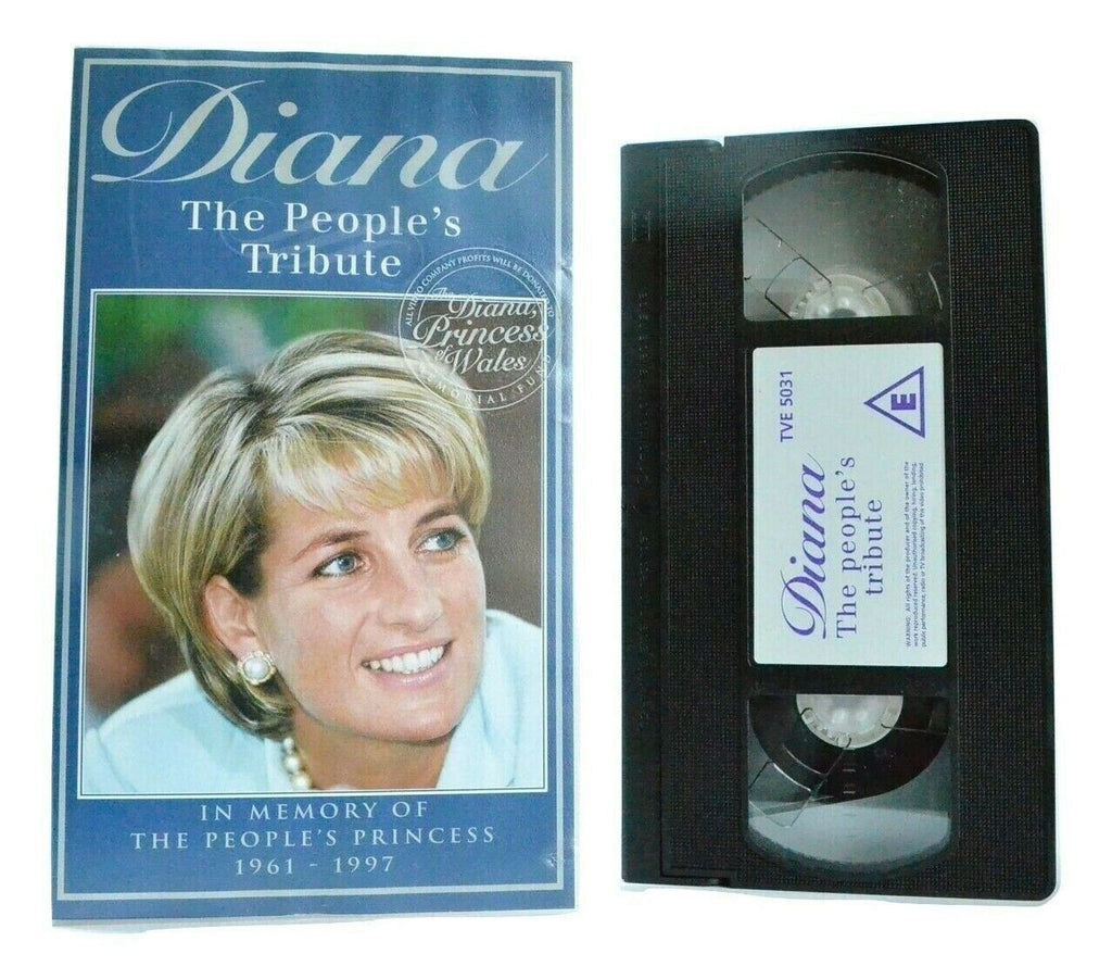 Diana: The People's Tribute (1961-1997) - Documentary - Princess Of Wales - VHS