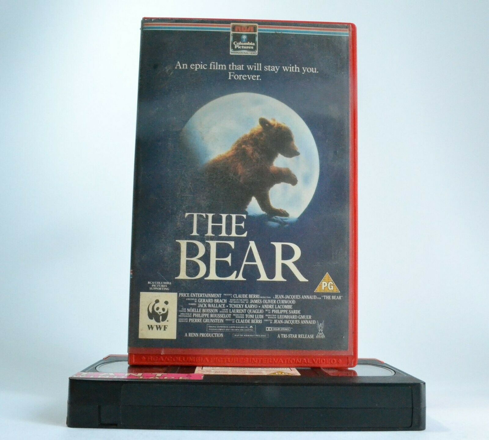 The Bear: Little Bear Vs. Laws Of The Wild - Family Adventure - Large Box - VHS