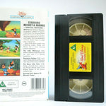 Mickey And Minnie Classic Cartoons - 6 Epiosdes - Animated - Children's - VHS