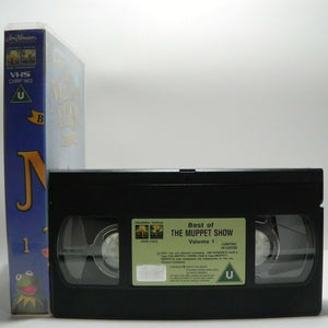 Muppet Show - Vol.1 - Best Of - Film Heroes - Roger Moore - Mark Hamill - VHS