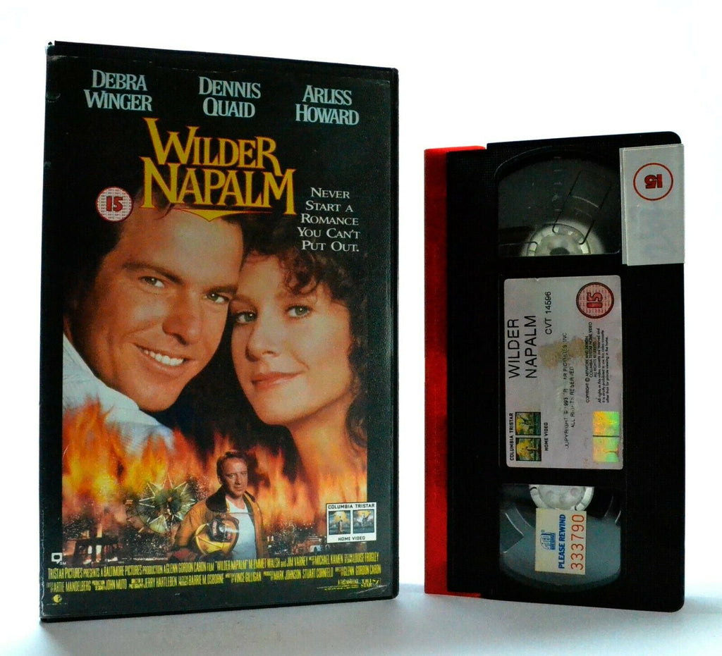 Wilder Napalm: Comedy - Brothers Rivalry For The Same Woman - Large Box - VHS